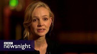 Carey Mulligan on dementia-friendly screenings - BBC Newsnight