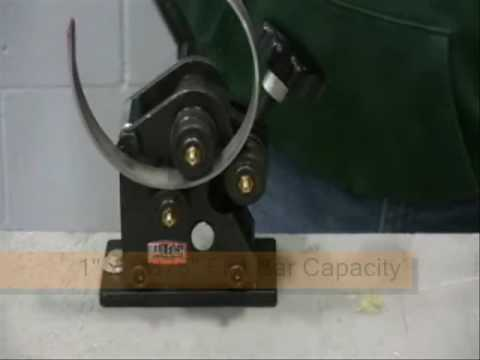 Baileigh R M3 Ornamental Roll Bender Metal Ring Roller Manual Rolling Machine Angle