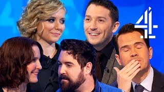 ALL the Moments of ROMANCE & Unbearable Sexual Tension on 8 Out of 10 Cats Does Countdown!