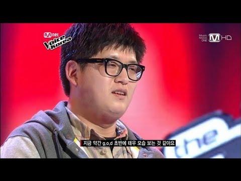 보이스코리아 시즌1 - 장재호-이별택시(김연우) 보이스코리아 the voice 1회