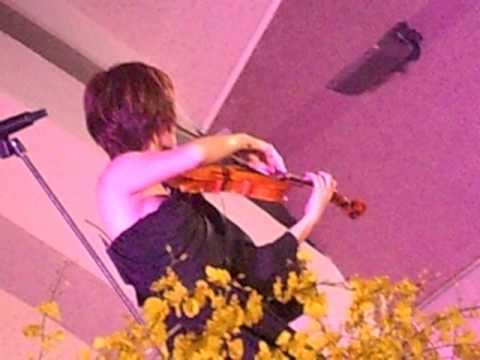 2013-03-30 嘉義中正公園 林逸欣 - 公主沒病(小提琴版)