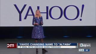 Yahoo changing its name to Altaba