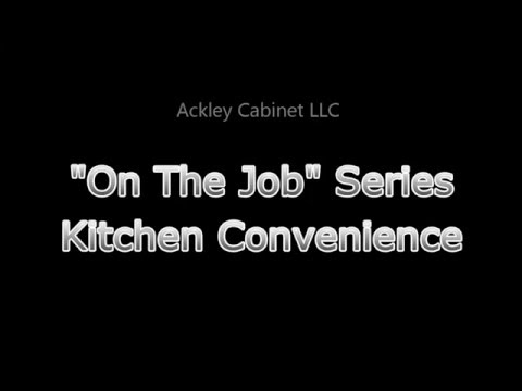 Ackley Cabinet  - Kitchen Convenience
