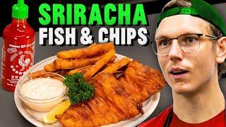 Sriracha Fish and Chips Recipe