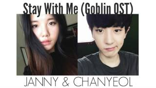 GOBLIN 도깨비 OST1 - Stay With Me by CHANYEOL (찬열) & JANNY [Eng & Kor]