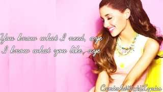 Ariana Grande (feat. Big Sean) - Right There (Lyrics Video) HD
