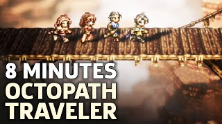 8 Minutes Of Octopath Traveler Gameplay