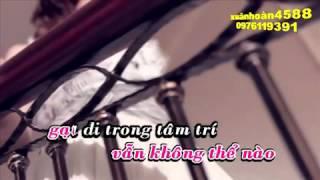 Đã  bao giờ anh khóc - Karaoke  - Hoàng Châu