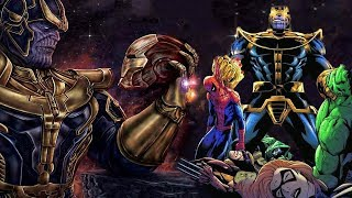How Strong Is THANOS And The INFINITY GAUNTLET? - He's Just Getting Started!