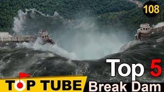 Top 5 Vụ Vỡ Đập thủy Điện Kinh Hoàng Nhất Trên Thế Giới - Còn Khủng Khiếp Hơn Phim [Top tube 108]