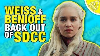 SDCC: Game of Thrones Showrunners Piss Off Fans… Again!  (Nerdist News w/ Dan Casey)