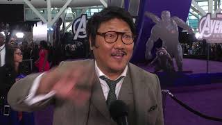 """Benedict Wong attends the """"AVENGERS"""" Endgame premiere"""