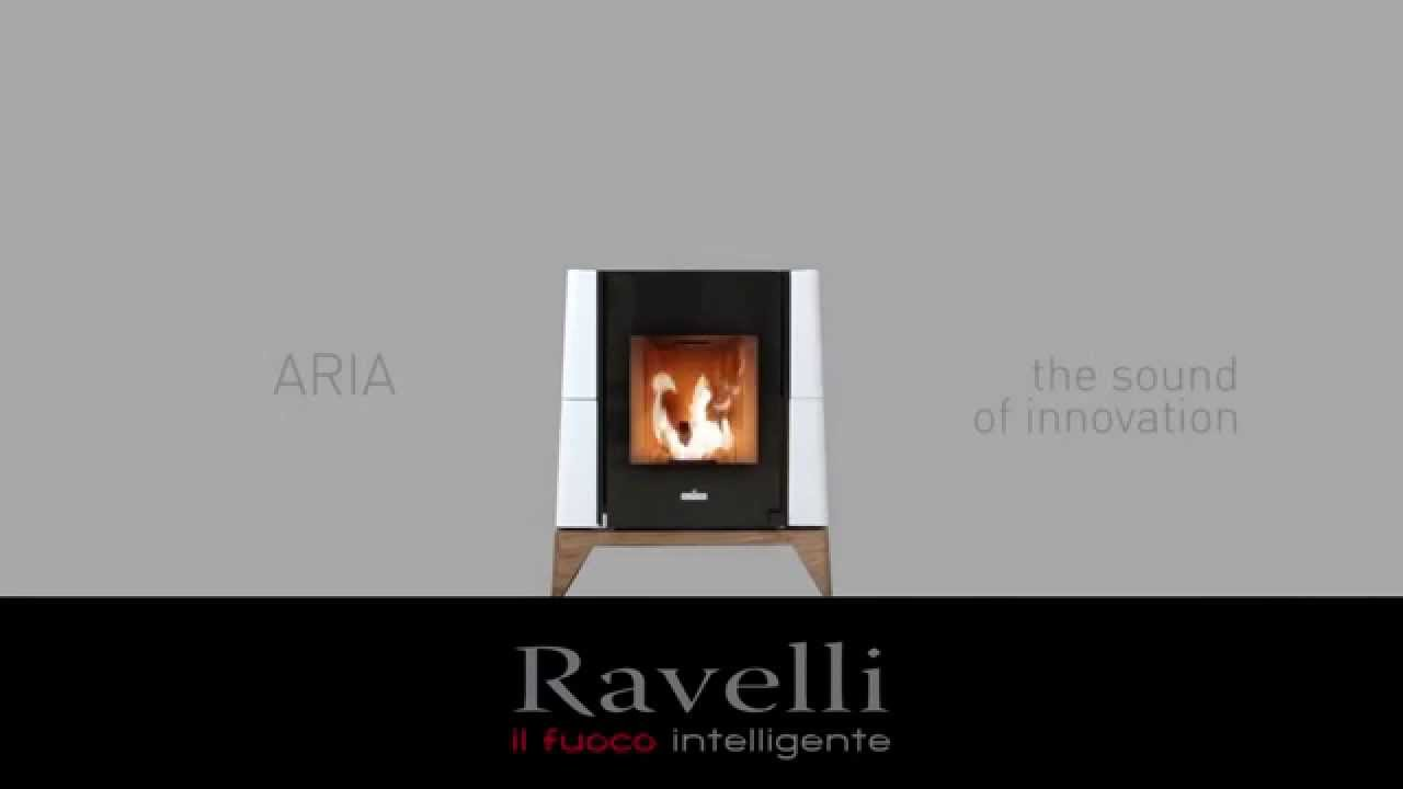 po le granule silencieux aria de ravelli youtube. Black Bedroom Furniture Sets. Home Design Ideas