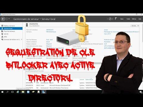 Séquestration de clé Bitlocker avec Active Directory