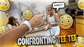 I TOLD TEE TEE SHE CAN'T DATE DESHAE'S LITTLE BROTHER & THIS HAPPENED!