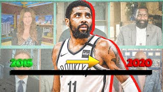 The Timeline Of Kyrie Irving's Toxic Relationship With The NBA Media   Pacific Hoops