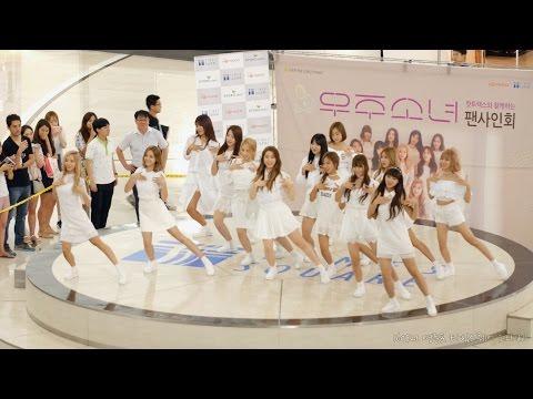 [4K] 160821 우주소녀(WJSN) '비밀이야 (Secret)' 직캠 @팬싸인회, 영등포 타임스퀘어