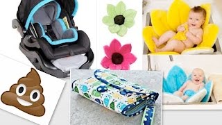 Worst Baby Products  | Blooming Bath, Graco