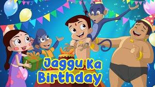 Chhota Bheem - Jaggu Ka Birthday   Adventure Videos for Kids in Hindi   Cartoons for Kids