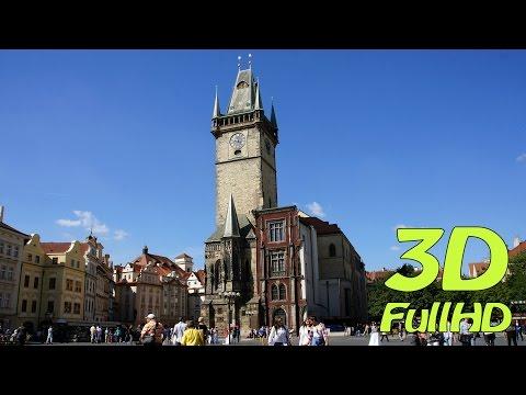 [3DHD] Old Town City Hall, Prague, Czech Republic / Staroměstská radnice, Praha, Česko