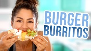 How to Cook: BURGERITTOS | MeganBatoon