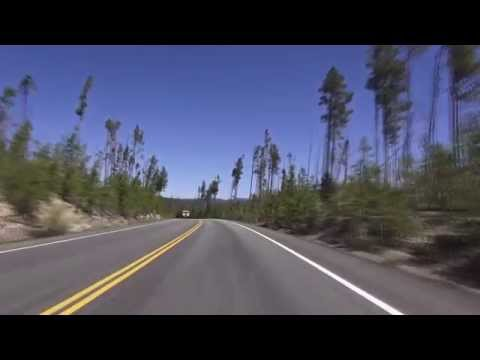 Yellowstone Grand Loop:  Part 1 -Old Faithful Lodge to Mammoth Hot Springs Hotel