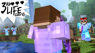 Minecraft 3rd Life: Day 6 - The Nick of Time