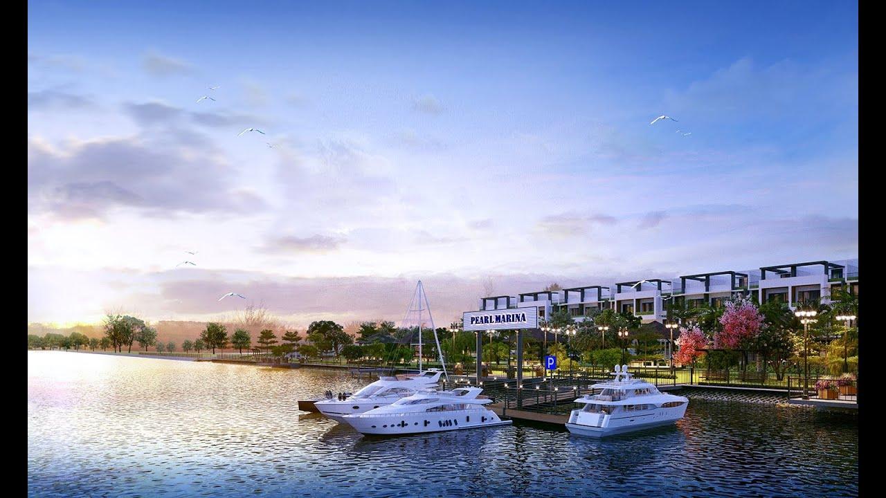 The Pearl Riverside - 3.3 tỷ sở hữu biệt thự view sông, cam kết cho thuê 3 năm các lô mặt tiền sông video