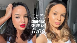 VLOG- LETS GO SHOPPING!/HANG OUT WITH US   AYSE & ZELIHA