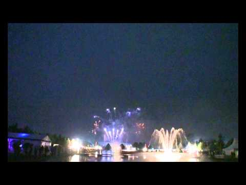 Royal Horticultural Society - Hampton Court Flower Show 2012 - Alchemy Fireworks