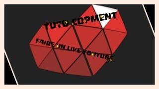 TUTO COMMENT FAIRE UN LIVE YOUTUBE AVEC YOUTUBE GAMING