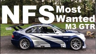 NFSMW M3 GTR Full Build Timelapse
