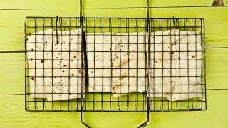 ТОП закуска для шашлыка за 5 минут! ЛАВАШ на РЕШЁТКЕ с сыром сулугуни
