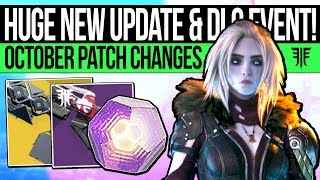 Destiny 2   HUGE NEW UPDATE & PATCH CHANGES! Powerful Drop Buff, Sleeper Nerf, Festival Loot & More!