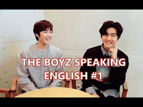 The Boyz™ speaking english (#1)