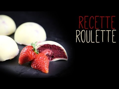 Dôme de chocolat blanc aux fruits rouges !