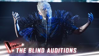 The Blind Auditions: Sheldon Riley sings 'Frozen'   The Voice Australia 2019