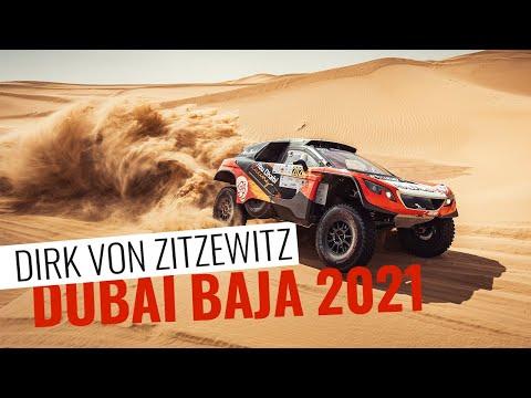 Dirk von Zitzewitz bei der Dubai Baja 2021 - Dakar Fortsetzung