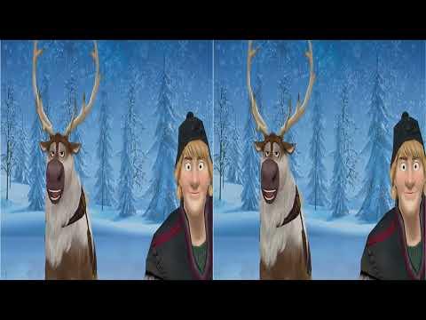 [MMD yt3d] Sven and Kristoff sing DaDaDa [3D] - Frozen - funny meme 1080p