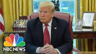 President Trump: Khashoggi 'Wasn't A Citizen', But U.S. Taking Whereabouts Seriously   NBC News