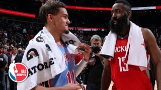 James Harden scores 31, Trae Young has double-double | Rockets vs. Hawks | NBA Highlights