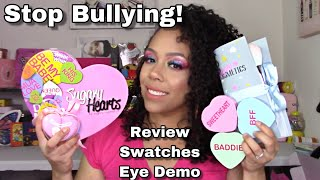 Sugary Cosmetics SweetHeart Collection Review & BULLYING in the Beauty Industry
