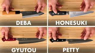 How To Use Every Japanese Knife | Method Mastery | Epicurious