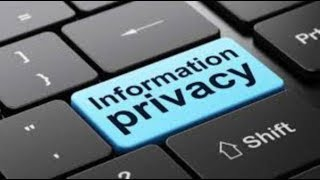 التخلص من رسالة الخصوصية Personal Information Privacy