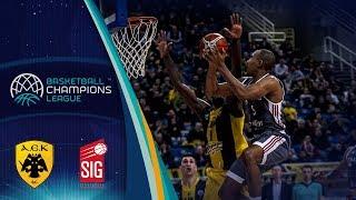 AEK v SIG Strasbourg - Highlights - Basketball Champions League