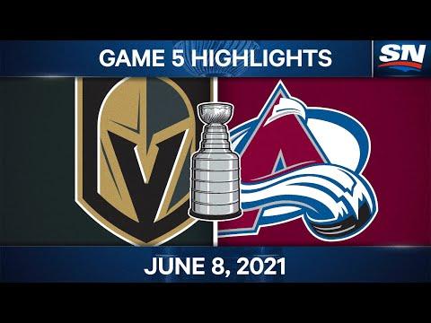 NHL Game Highlights   Golden Knights vs. Avalanche - Jun. 8, 2021