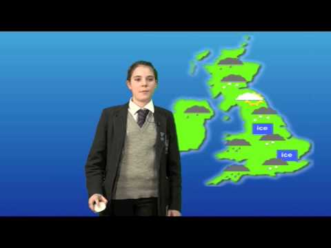 BBC School Report Day 2013: Weather Report by Rebecca & Luca