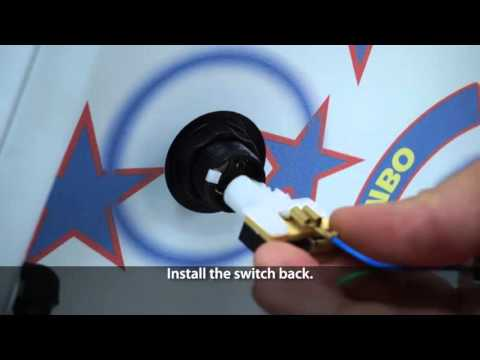 How to upgrade a button backlight for Catch the Light Combo