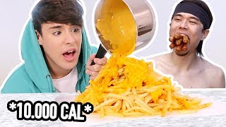 i ate like MATT STONIE for a day !!!