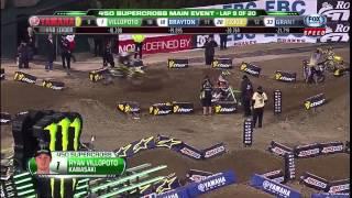 AMA Supercross 2013 | Rd1: Anaheim 450 Main Event [HD]